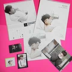 B.A.P-ヨンジェ2014Season's Greetingsカレンダー・トレカなど公式7点直筆