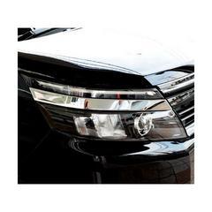 トヨタ ヴォクシー VOXY 80系 デザインカット メッキ ヘッドライトガーニッシュ アイライン