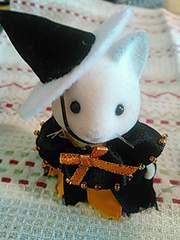 シルバニアファミリー ハロウィンオリジナル衣装 ネコの女の子