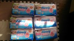 ムーニーmoonyお誕生3000gテープタイプ新生児30枚6パックおむつ