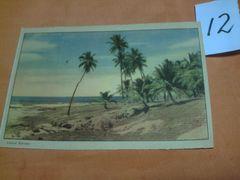 外国の古い絵葉書 「ブラジルのバヒアノ」 (12)