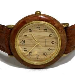 【980円〜】木製 木目がお洒落なナチュラル ユニセックス腕時計