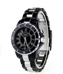 7色LEDでおしゃれ★ユニセックス腕時計★OHSEN★ブラック