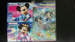 ディズニー TDL TDS 七夕Days ポスカ ポストカード 2014 ミッキー ミニー