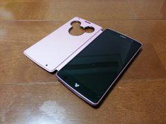 即落/即発!!美中古品 DM-01G Disney Mobile ピンク