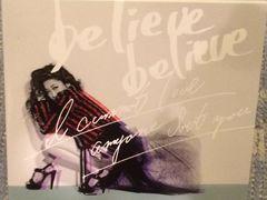 激安!超レア!☆JUJU/believe believe☆初回盤/CD+DVD☆超美品☆