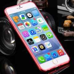 iphone6s/6  plus (5.5inch) ケース シリコンカバー レッド