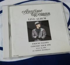 ☆送料無料☆ 矢沢永吉 * LIVE ALBUM Anytime Woman