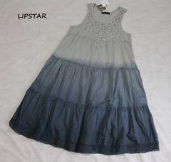 リップスター*LIPSTAR胸元レース*ノースリワンピース新品