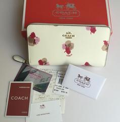 COACH コーチ F53794 長財布 レディースサイフアウトレット