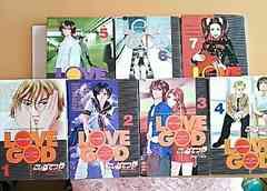 ラブゴッド 1〜7巻 セット コミック こしばてつや 漫画本 マンガ