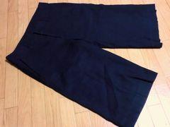 コムサデモード/COMME CA DU MODE 麻混合ハーフパンツ(黒)