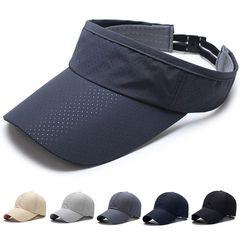 キャップ 帽子, メッシュ サンバイザーグレー