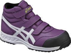 送料込★アシックス安全靴【FIS53パープル】27.5cm