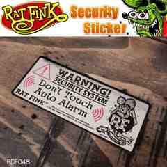 【送料無料】RAT FINK ステッカー ラットフィンク/RDF048