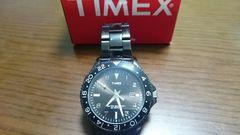 TIMEX オールブラック 美中古 格安‼