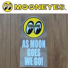 【送料無料】ムーンアイズ 転写ステッカー/As Moon Goes