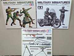 1/35 タミヤ アメリカ軍 小火器・M.P.歩兵セット