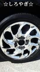 メッキホイール165/55R14タイヤ付き2本セット4穴スーパーマルチスペアタイヤ
