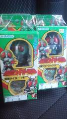 仮面ライダー1号&仮面ライダーBLACKRX!�A体セット!仮面ライダー倶楽部