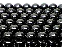 人気商品★天然石AAAブラックトルマリン6ミリ 1連 40センチ
