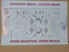 SUPER SCALE DECAL 72-635 S-3 Vikings Lo-Vis VS-21,VS-22…