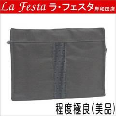 ◆本物美品◆エルメス エールラインポーチ(大)セカンドバッグ