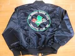 USA製 シボレー コルベット クラブジャケット L