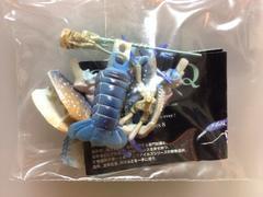 日本の動物 8弾 アメリカザリガニ 青色変異個体 海洋堂