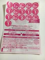 ヤマザキ春のパンまつり キャンペーンシール 14点