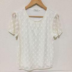 #earthレースTシャツ☆M