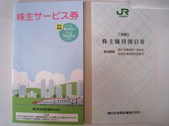 JR東日本株主優待割引券1枚綴り 株主サービス券1冊