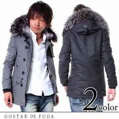 【GOSTAR DE FUGA】 KillerTune ラクーンファー付きウールN3Bミリタリジャケット