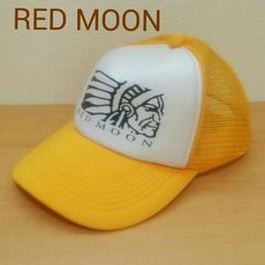 RED MOON レッドムーン★メッシュ キャップ 帽子★黄色