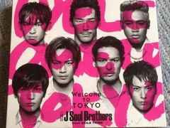 激安!超レア!☆JSoulBrothers/WelcometoTOKYO☆初回プレス盤CD☆