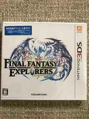 ファイナルファンタジー エクスプローラーズ 新品未開封 3DS