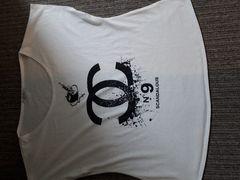 神戸レタスパロディno9ロゴ入りドルマンビッグTシャツ