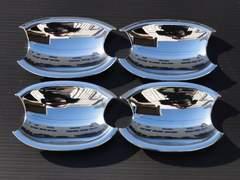 クロームメッキドアハンドルカバー皿 E90 320i325i330xi335i
