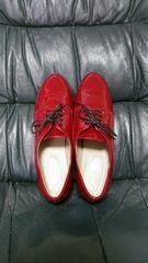 新品☆ikkaエナメル靴L