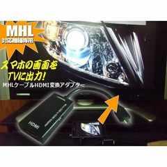 送料無料!スマホをテレビにMHL⇒HDMI変換アダプターケーブル