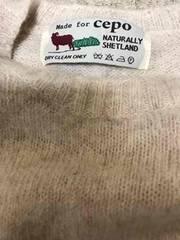 暖かいセーターウール100%