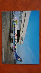 全日空 ボーイング 747SR  ANA『スヌーピー ポスト カード』1枚