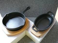 鉄食器「ミニグラタン皿&スキレット」