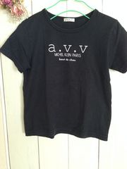 ☆a.v.v ☆黒Tシャツ☆サイズ110☆
