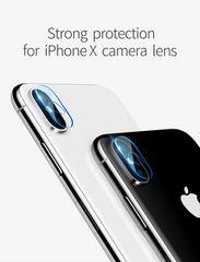 iPhoneX カメラレンズ ガラスフィルム   レンズカバー