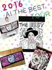 美品★AI the BEST TOUR 2016 LIVEタオル★ピンク