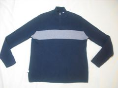 77 男 RALPH LAUREN ラルフローレン ジップセーター 2XLサイズ