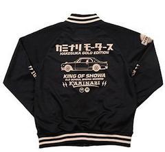カミナリ雷/ハコスカGTR/トラックジャケット/黒/kjs-1000/テッドマン/カミナリモータース