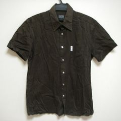 ダナキャラン M 半袖 長め丈 シャツ