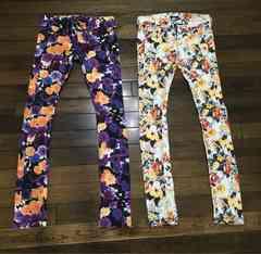 処分します!EMODA 花柄パンツ2着まとめて 美品です